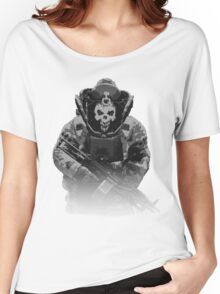 Payday 2, Pixel Skulldozer Women's Relaxed Fit T-Shirt
