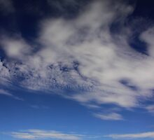 Landscape with clouds by snehit