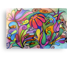 Rabbit Dreams - Card Canvas Print