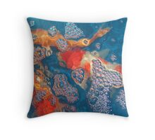Koi10 Throw Pillow