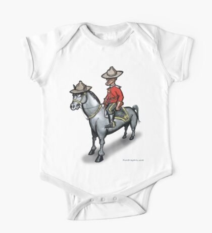 Canadian Mounty Kids Clothes