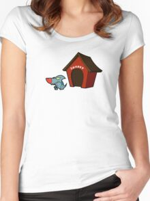 Sharky The Sharkdog Women's Fitted Scoop T-Shirt