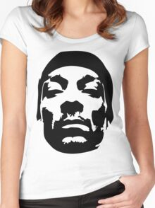 Snoop Dogg Black Design Women's Fitted Scoop T-Shirt