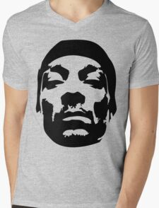 Snoop Dogg Black Design Mens V-Neck T-Shirt