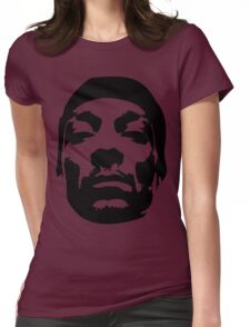 Snoop Dogg Black Design Womens Fitted T-Shirt