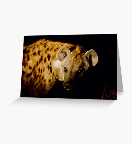 Hyaena Greeting Card