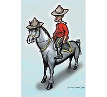 Canadian Mounty Photographic Print