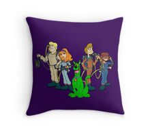 The Real Scooby Busters! Throw Pillow