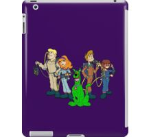 The Real Scooby Busters! iPad Case/Skin