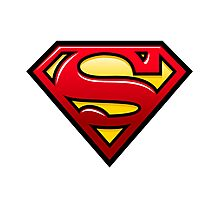 superman logo Photographic Print