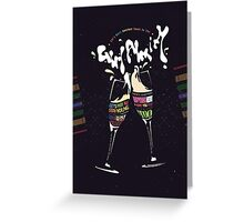 Girl Almighty Greeting Card