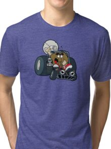 Murky and Lurky Cruise Round In Their Doom Buggy Tri-blend T-Shirt