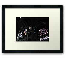 Gothic cathedral (2) Framed Print