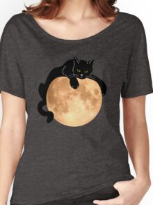 The Black Cat  Women's Relaxed Fit T-Shirt
