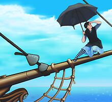 Chase The Horizon by David Simkus