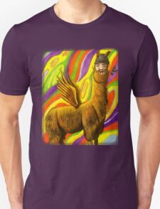 The Flying Llama Dude T-Shirt