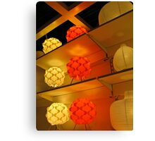 glowing 1 Canvas Print