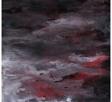 Sea of Blood, Leaden Sky Photographic Print