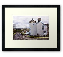 A House In The Country Framed Print