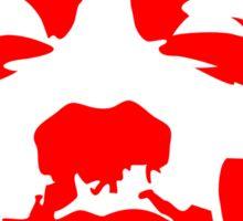 Snoop Dogg Red Design Sticker