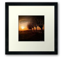 """""""In the depths of winter I finally learned there was in me an invincible summer"""" ~ Albert Camus Framed Print"""