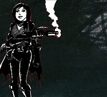 Gungirl of the Apocalypse by Wayne Grivell