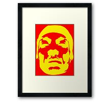 Snoop Dogg Yellow Design Framed Print