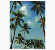 Paradise - Tall Palms by Tisa