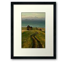 Spray Farm Lane,Bellarine Peninsula Framed Print