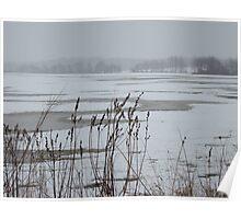 New Jersey Farmland in Winter Poster