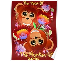 Two Year Of  The Monkey Poster