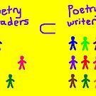 Poetry readers and writers by Nebsy
