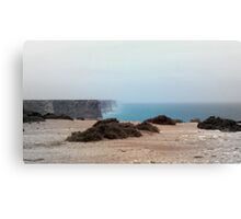 Nullarbor cliffs Canvas Print
