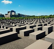 Holocaust Memorial by karlmagee