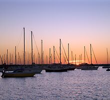 Marina Sunset by Michael Mars