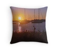 HDR Sunset Throw Pillow