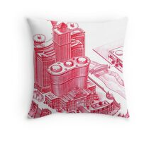 Super Casino Tycoon Throw Pillow