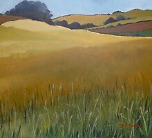 Wheatfield by Elizabeth Moore Golding