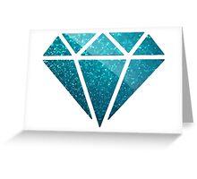 Shinee Green Diamond  Greeting Card