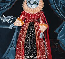 Lady Tabitha Silverly Elizabethan Cat by Ryan Conners