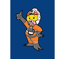 Leave it to Porkins  Photographic Print