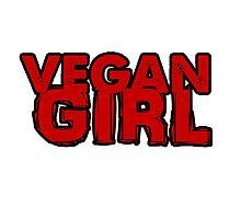Vegan Girl Bold by Unpleasantdream