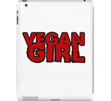 Vegan Girl Bold iPad Case/Skin