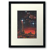 Red Planet Framed Print