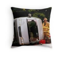 Whoops..wrong turn Throw Pillow