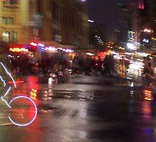 Six O'Clock, Flinders Street. by carmelr