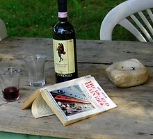 Afternoon With WIne by Kathryn Simon