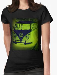 Split Screen VW Combi - New Products Womens Fitted T-Shirt