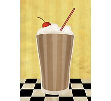 Delicious Milkshake Photographic Print