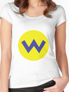 Wario Women's Fitted Scoop T-Shirt